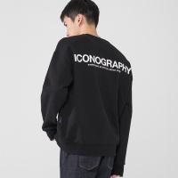 900G 헤비코튼 볼륨프린트 ICONOGRAPHY BK