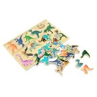 유아 자석 퍼즐 놀이 학습 교구 공룡