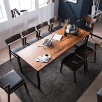 [채우리] 루킹 멀바우원목 8인식탁세트(의자)