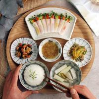 일본식기 와카메 라이트 혼밥세트