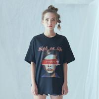 빅 페이스 AF 티셔츠 (블랙)