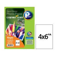 [프린텍] V7401-10_디지털카메라 저광택 사진용지/Semi Glossy/무광/4