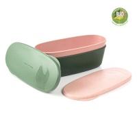 [LMF]스냅박스 오벌 바이오 2팩 그린+핑크