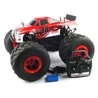1/6 BIG WHEEL TRUCK 2.4GHz R/C (rowdy) (BGT279825REB) Red B 빅휠 트럭 R/C