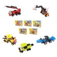 7000 미니블록 장난감 피규어 (건설장비 5종) 세트