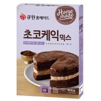 60%할인 큐원 초코케익믹스 300g (유통기한 19.10.05)