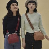 [펀프롬펀]Olsen frame mini bag (camel)