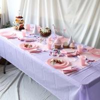 파티테이블셋팅패키지(6인용)- 라벤더&핑크