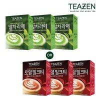 [티젠] 말차라떼 & 로열밀크티 21T (무료배송)