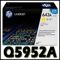 HP 정품 Q5952A (643A) Q5952 5952A 5952 CLJ 4700