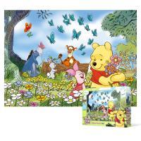 500피스 직소퍼즐 - 곰돌이 푸우 꽃밭에서