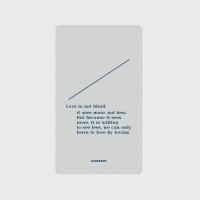 [어프어프] 보조배터리 Line-gray