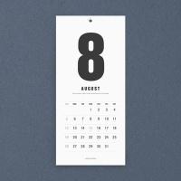 2019 MODERN WALL CALENDAR - Medium