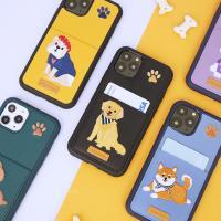아이폰11프로 자수 포켓 카드 케이스