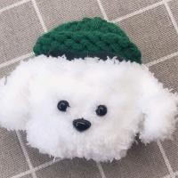 에어팟프로케이스 3세대 니트 뜨개질 273 초록흰색pro