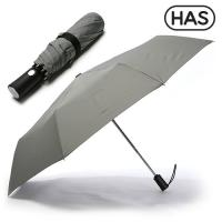 [HAS] 3단 솔리드 완전 자동 우산 HS3A3860(GRAY)