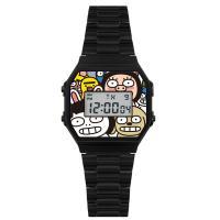 [HOZO] 캐릭터 손목시계 HZ-FAMILY-BK