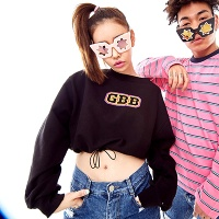 GBB Crop Sweatshirt(3color)