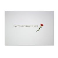 홀마크 생일 축하 카드(작은꽃)-KED2178