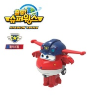 슈퍼윙스3 폴리스팀 미니변신 호기 로봇 장난감