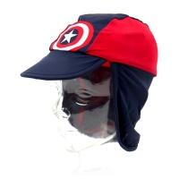 마블 캡틴아메리카 아동 플랩캡