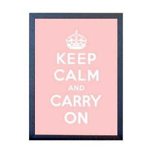 KEEP CALM 포스터 - 핑크
