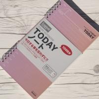 하루 일정을 계획있게 사용하는 업무수첩..나카바야시 일일계획 논리노트 로지컬 Today 100일분 HN1-5