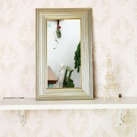 고급 소품 미니거울-778S(거울 20x40cm)