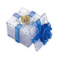 3D입체퍼즐 선물상자 - 블루 CP90132B