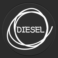 DIESEL - 주유구스티커(NEW128)
