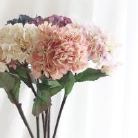 [콩지] 파스텔 수국 조화 1P