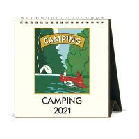 2021년 데스크캘린더 Camping