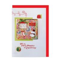 크리스마스카드/성탄절/트리/산타 Christmas 시즌카드 (FS111-1)