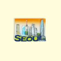 3D입체자석 서울빌딩 마그넷 기념품