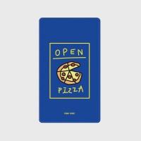 [어프어프] 보조배터리 Delicious pizza-blue