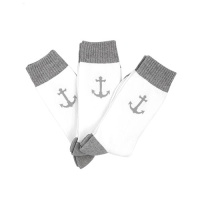 [3PACK]1507 Anchor ATHLETIC SOCK - GRAY