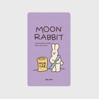 [어프어프] 보조배터리 Moon rabbit-violet