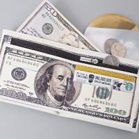 [인디고샵] 돈을 부르는 백달러 지갑