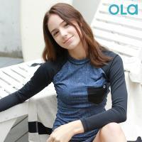 [OLA]올라 여성 래쉬가드 블루진 OTW004 수영복/서핑