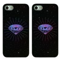 THERA.PINK DIAMOND LIGHT(2TYPE) 갤럭시S8 TWINKLE CASE