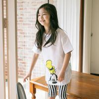 [보니스텔라] 17SS368 기본 롱 티셔츠