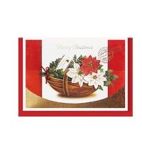 크리스마스카드/성탄절/트리/산타 크리스마스의 꽃 (FS151s-1)