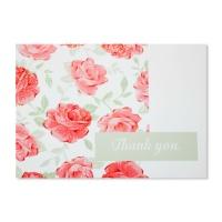 홀마크 감사 카드(붉은꽃)-KED1558