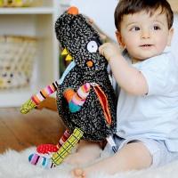 [에불로보] 프랑스 애착인형 울프룰루와 4개의 장난감