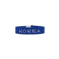 국내 결식아동 기부팔찌 KOREA BLUE 코리아 블루