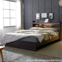 [보루네오 하우스] 아르메 엘피노 LED 일반형 침대 SS_밸런스 독립라텍스매트