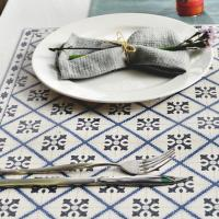 스페니쉬 패턴 방수 식탁 테이블매트 50x35cm- 11type