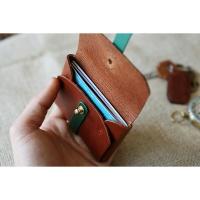 이비그 스트랩 가죽 카드지갑 / 가죽 카드 케이스