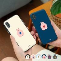 [아이폰8] 뚱곰 도어범퍼 케이스