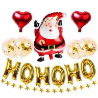 [인디고샵]  호호호 산타 크리스마스 파티용품세트